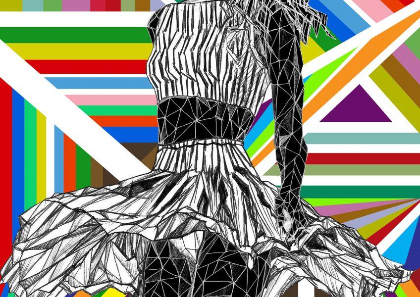 Asare Adjei_Fashionista_NaughtyButNice_W_008_InkandDigitalArtonPaper_2015_Illustration