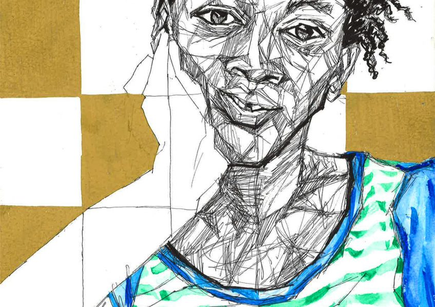Asare Adjei_Gold Series_001_InkWatercolourandGouacheonPaper_WF_Illustration_2015