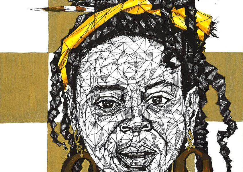 Asare Adjei_Gold Series_002_InkWatercolourandGouacheonPaper_WF_Illustration_2015