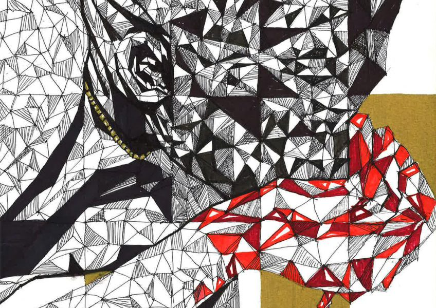 Asare Adjei_Gold Series_004_InkWatercolourandGouacheonPaper_WF_Illustration_2015