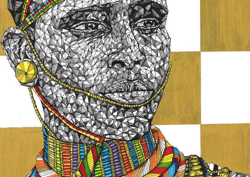 Asare Adjei_Gold Series_007_InkWatercolourandGouacheonPaper_WF_Illustration_2016